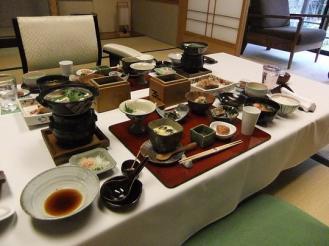 かわせみ 朝食 (1)