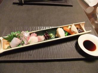 湯どの庵 夕食① (5)