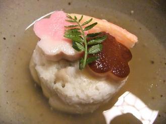 湯どの庵 夕食① (4)