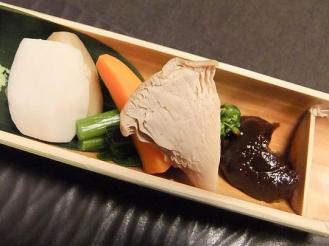 湯どの庵 夕食① (7)