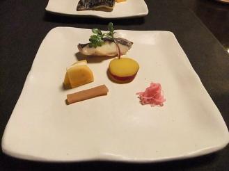 湯どの庵 夕食① (8)