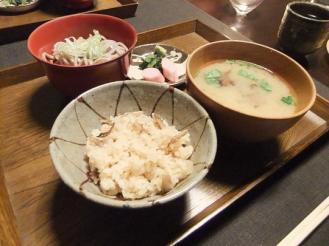 湯どの庵 夕食① (12)