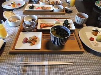 湯どの庵 朝食① (5)