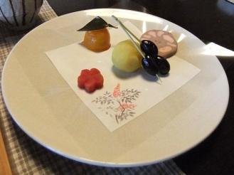 湯どの庵 朝食① (10)