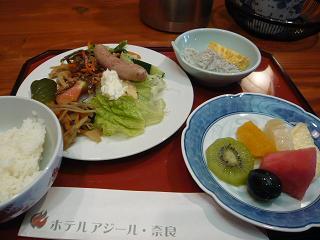 ホテル・アジール奈良朝食バイキング