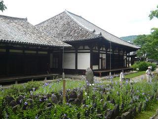 元興寺・瓦屋根