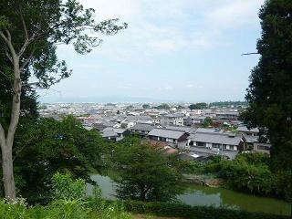 黒塚古墳からの眺め