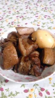 マイタケ入り豚の角煮