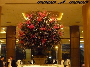エントランス花