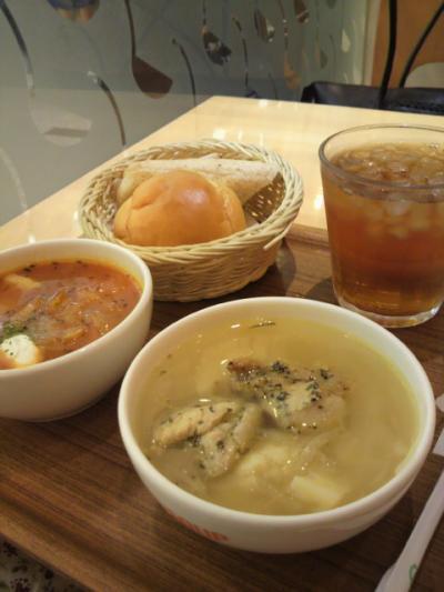 スープ de お昼ごはん