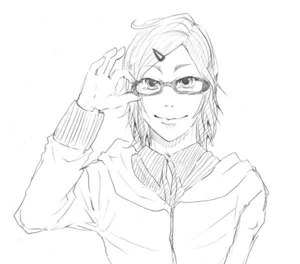新し眼鏡さん