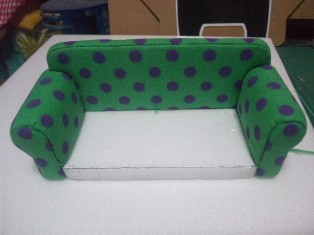 ソファーの作り方5-7
