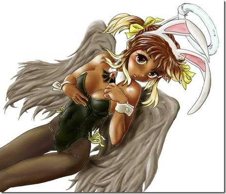 バニー天使さん