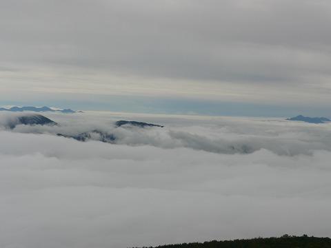 乗鞍岳雲海