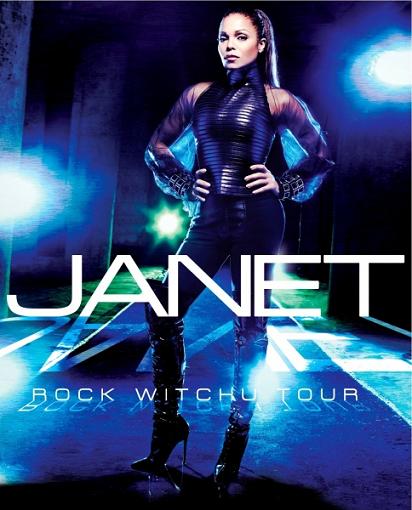 Janet Jackson  「Rock Witchu Tour」