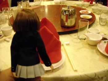 中華料理と唯ちゃん