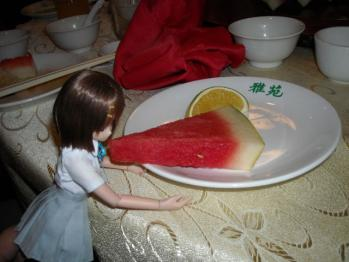 中華料理と唯ちゃんの5