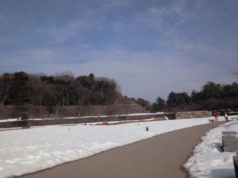 金沢城の石垣