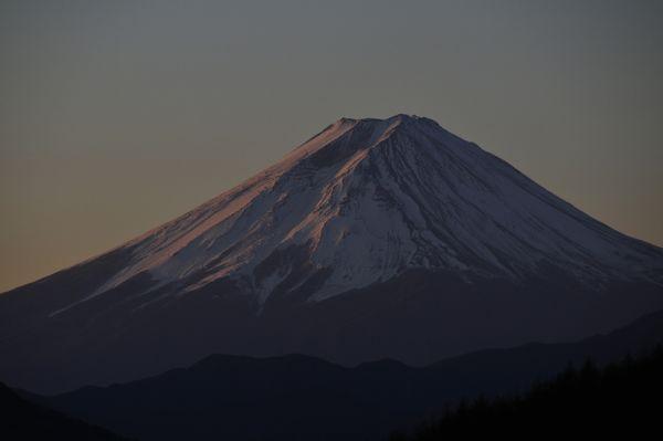 2009年1月1日の富士