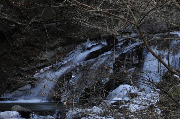 2009年1月1日石楠花滝
