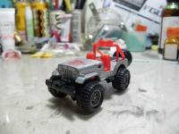 三菱ジープ ビッグタイヤ