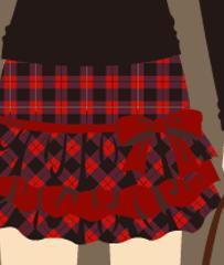 なおみスカート