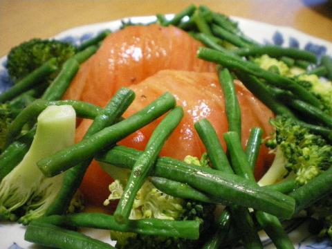 長豆サラダ