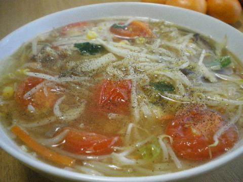 トマトサンマー麺