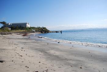 小さい海岸