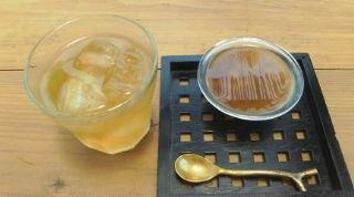 黒糖プリンとさんぴん茶