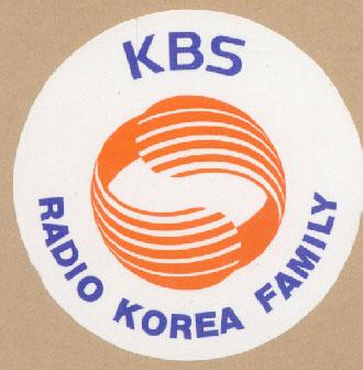 ラジオ韓国(RADIO KOREA) 1990年頃のステッカー