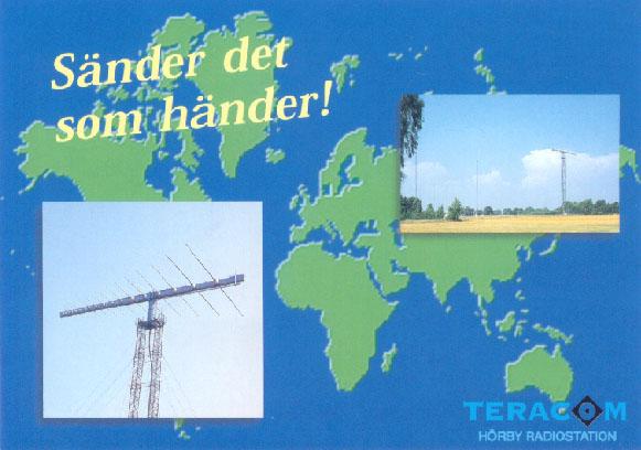 TERACOM Radio Sweden