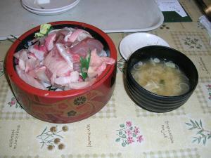 海鮮丼520円!