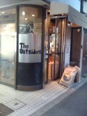 theoutsiders店舗