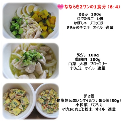 ご飯の材料☆