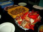 ジープ島の食事