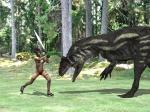 アロサウルスVSおねいさん