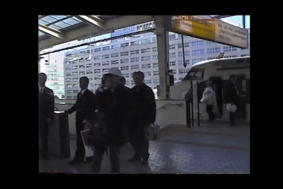 '90年代後半の東京駅