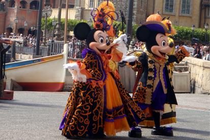 マウスカレードダンス・ミッキー&ミニー