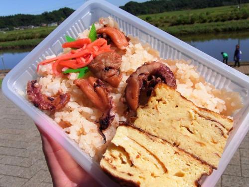 道の駅 多古 多古町の米で作った蛸飯