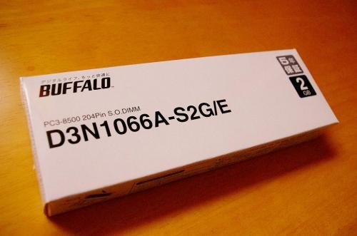 BUFFALO D3N1066A-S2G-E