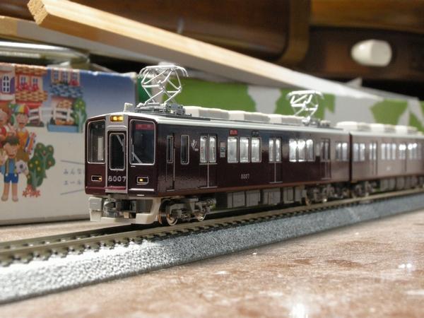 阪急8000系8007F