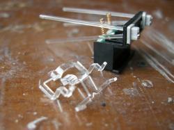 複雑な形の導光器