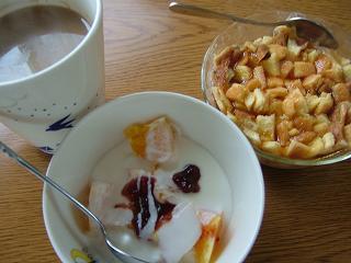 旦那彦の朝ご飯☆