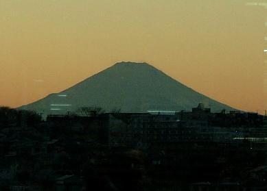 上大岡で見える富士山