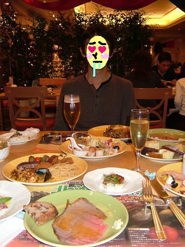 早く食べようじぇ~~(・ρ゚)