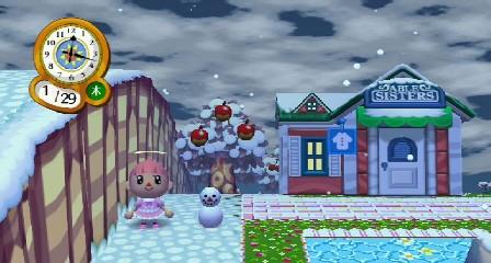 ミニ雪だるま☆