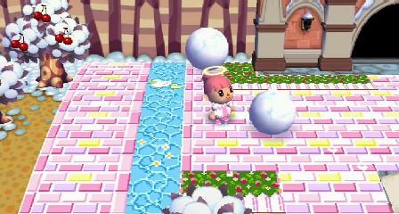 雪だるづくり