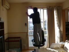 窓拭きパパ