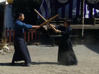 090920八坂神社天然理心流演武02